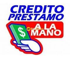 Ofrecer crédito en dinero a todos.