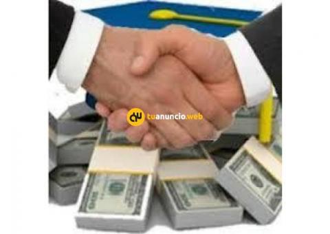 oferta de prestamos para sus proyectos en general