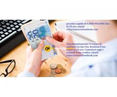 prestito rapido di 5.000i 950.000i fine in 24 ore. email: vittorianasce@outlook.com