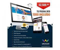 Pagina web economica administrable