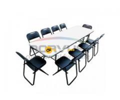 Mesas y sillas al mayoreo