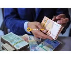 Oferta de préstamo entre individuo, serio y honesto
