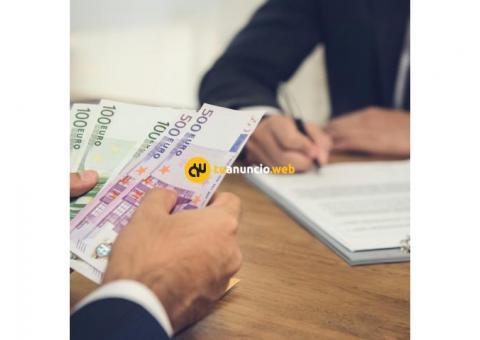 Oferta de préstamo con garantía del 100%