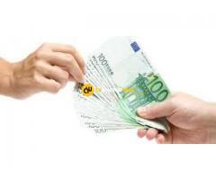 Préstamo crédito de dinero